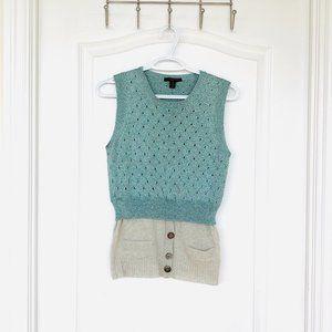 Louis Vuitton Cashmere Blend Metallic Sweater Vest